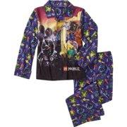 Lego Ninjago 2 PC Long Sleeve Coat Pajama Set Boy Size 6/7