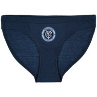 New York City FC Concepts Sport Women's Tradition Panty - Navy