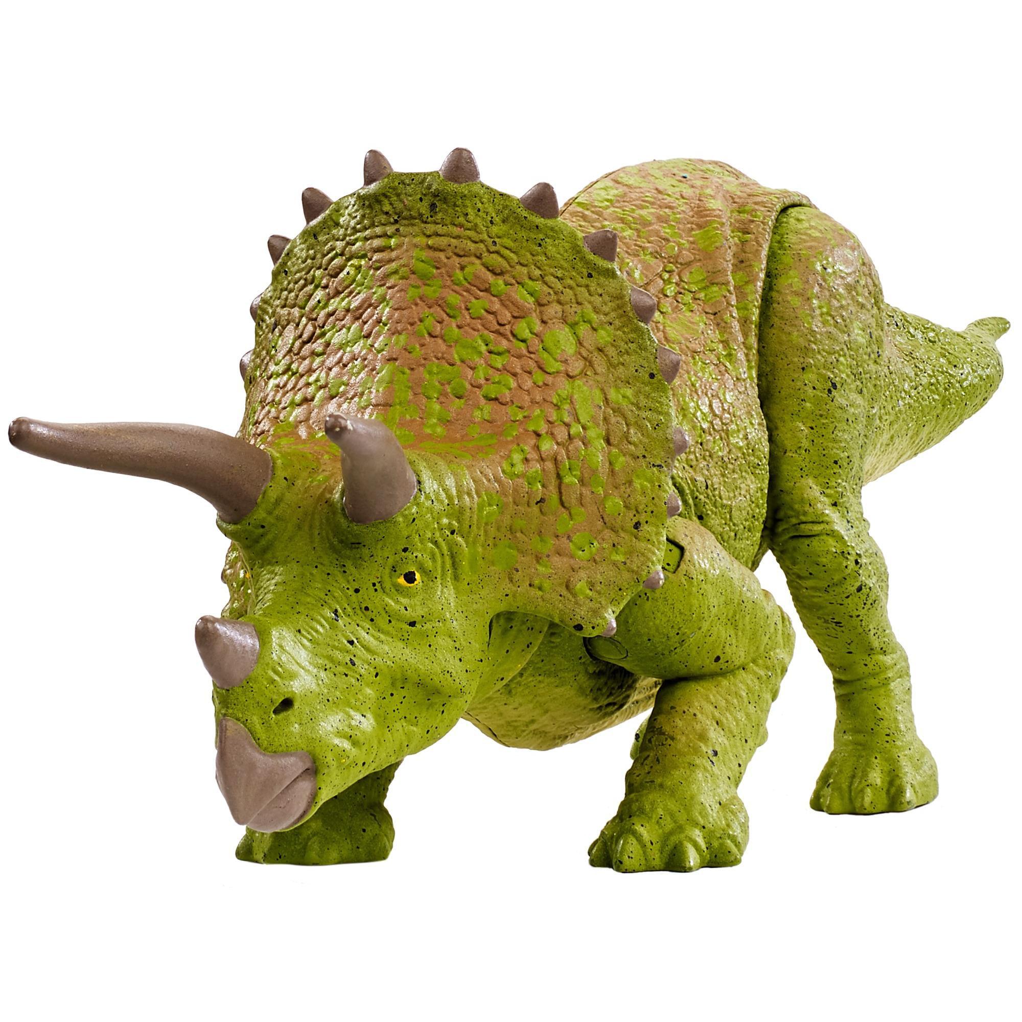 Triceratops figure battle scar Movable 2015 Hasbro Jurassic Park//world