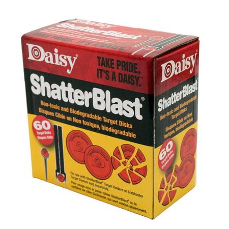 Daisy Model 873 ShatterBlast Clay Targets, Orange, 60pk