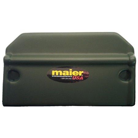 MAIER 118932 Battery Cover Honda Trx300 - Red ()