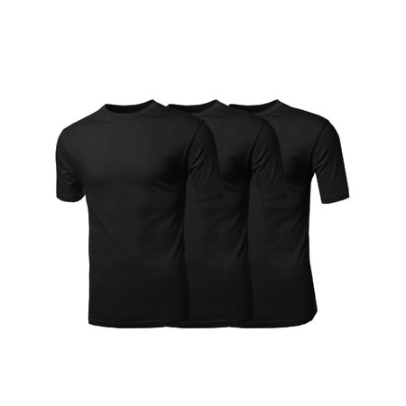 Red Lion Solid Rugby - FashionOutfit Men's Basic Solid Various Color Crew Neck Short Sleeves Tee