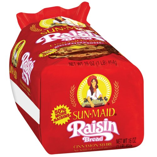 Sun-Maid Raisin Bread Bread, 16 oz