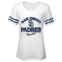 MLB San Diego PADRES TEE Short Sleeve Girls Fashion 60% Cotton 40% Polyester Alternate Team Colors 7 - 16