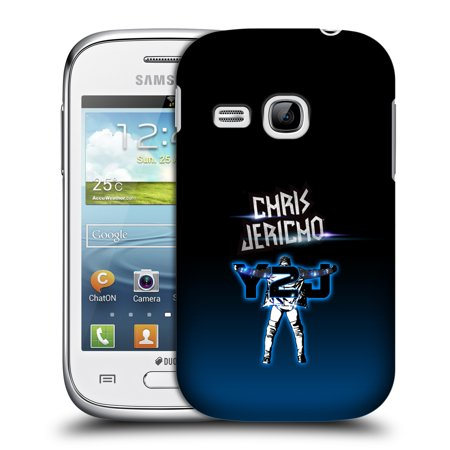 Official Wwe Chris Jericho Hard Back Case For Samsung Phones 5