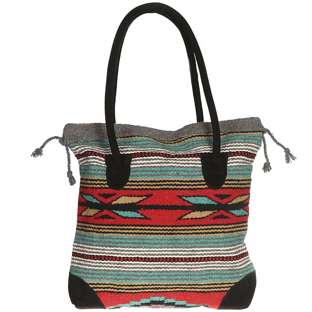 El Paso Saddleblanket Womens   Monterrey  Tote  Grey