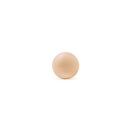 3/4-inch Round Wooden Ball Pack of 250 Unfinished Wooden Round Balls For Crafts and Architectural Design