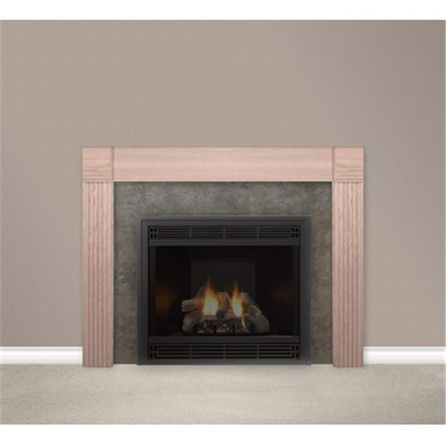 Empire Comfort Systems HWFMS48UO Housewarmer 48 in. Flush Surround With Classic Styling Made From True Oak