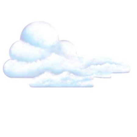 Cloud Cutout- Pack of 12 - image 1 of 1