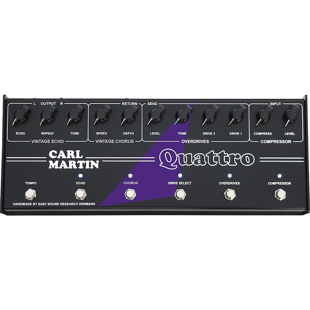 Carl Martin Quattro Analog Multi-Effect Pedal by