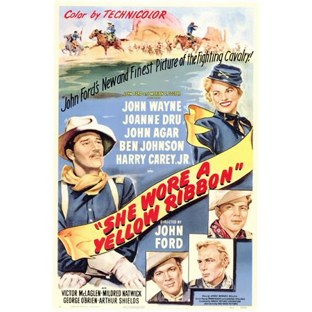 She Wore a Yellow Ribbon (1949) 11x17 Movie Poster