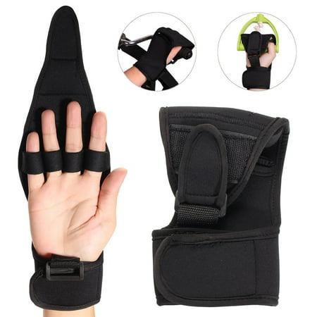 Moaere Rehabilitation Finger Gloves Brace Elderly Fist Stroke Hemiplegia Hand
