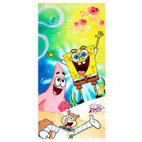 SpongeBob SquarePants Kids Super Soft Cotton Beach Towel, 28x58, Deep Dive