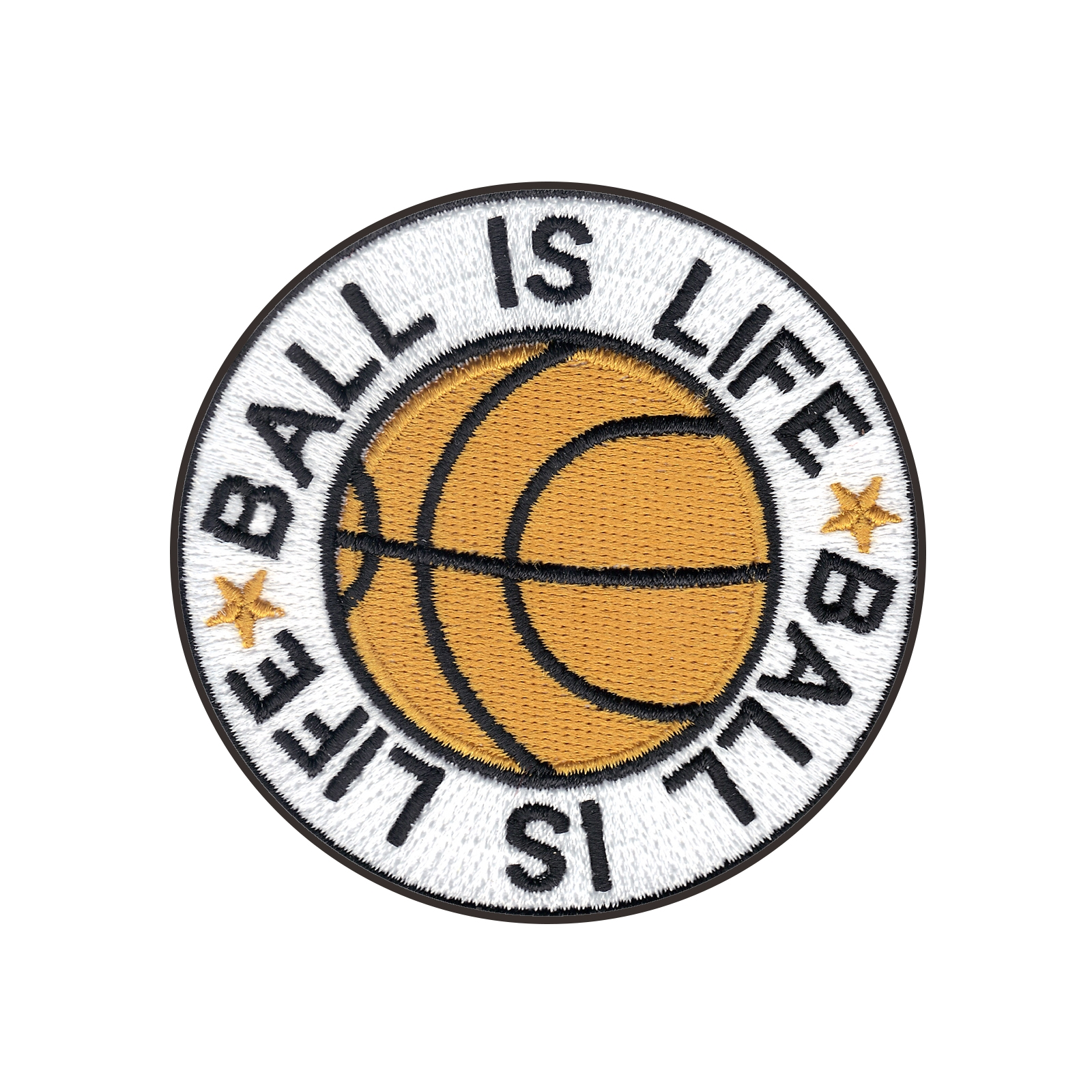 Ball Is Life Iron On Applique Patch