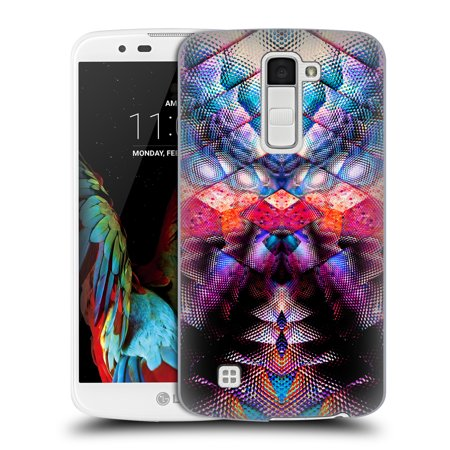 OFFICIAL HAROULITA ABSTRACT PATTERNS HARD BACK CASE FOR LG PHONES 3