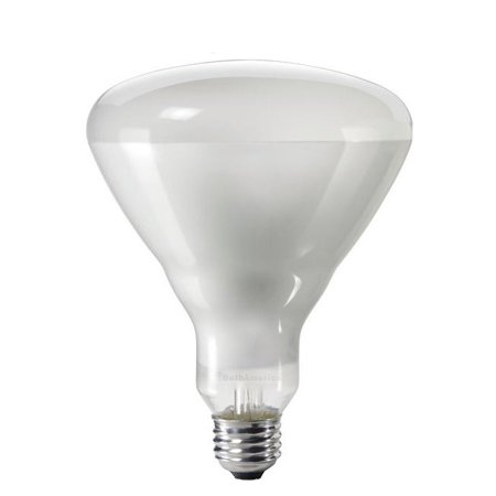 Br40 Incandescent Spot Lamp (Philips 65w 120v BR40 Frosted FL60 2740K DuraMax Reflector Incandescent Light Bulb )