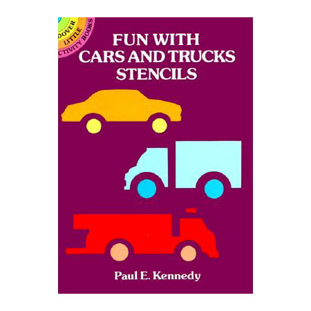 Kennedy Card - Fun with Cars and Trucks Stencils By Paul E. Kennedy Ships N 24h