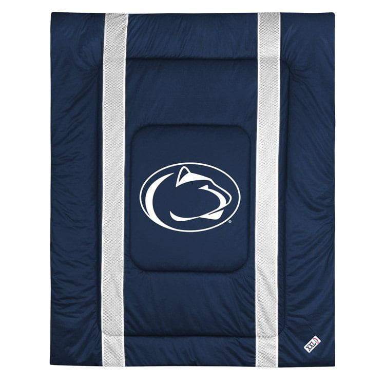 Penn State University Jersey Stripe Comforter