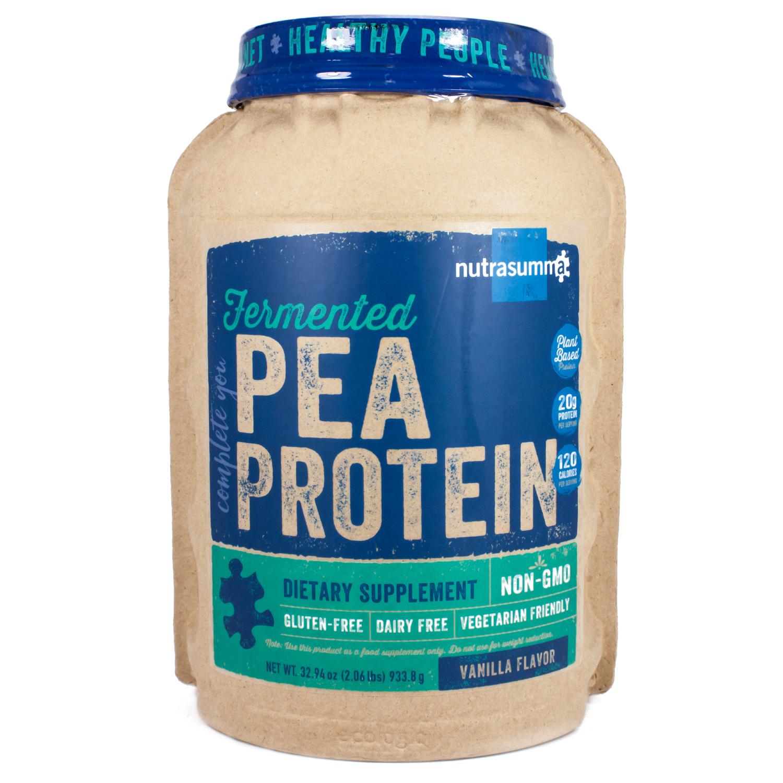 Fermented Pea Protein Vanilla By Nutrasumma - 32 Ounces