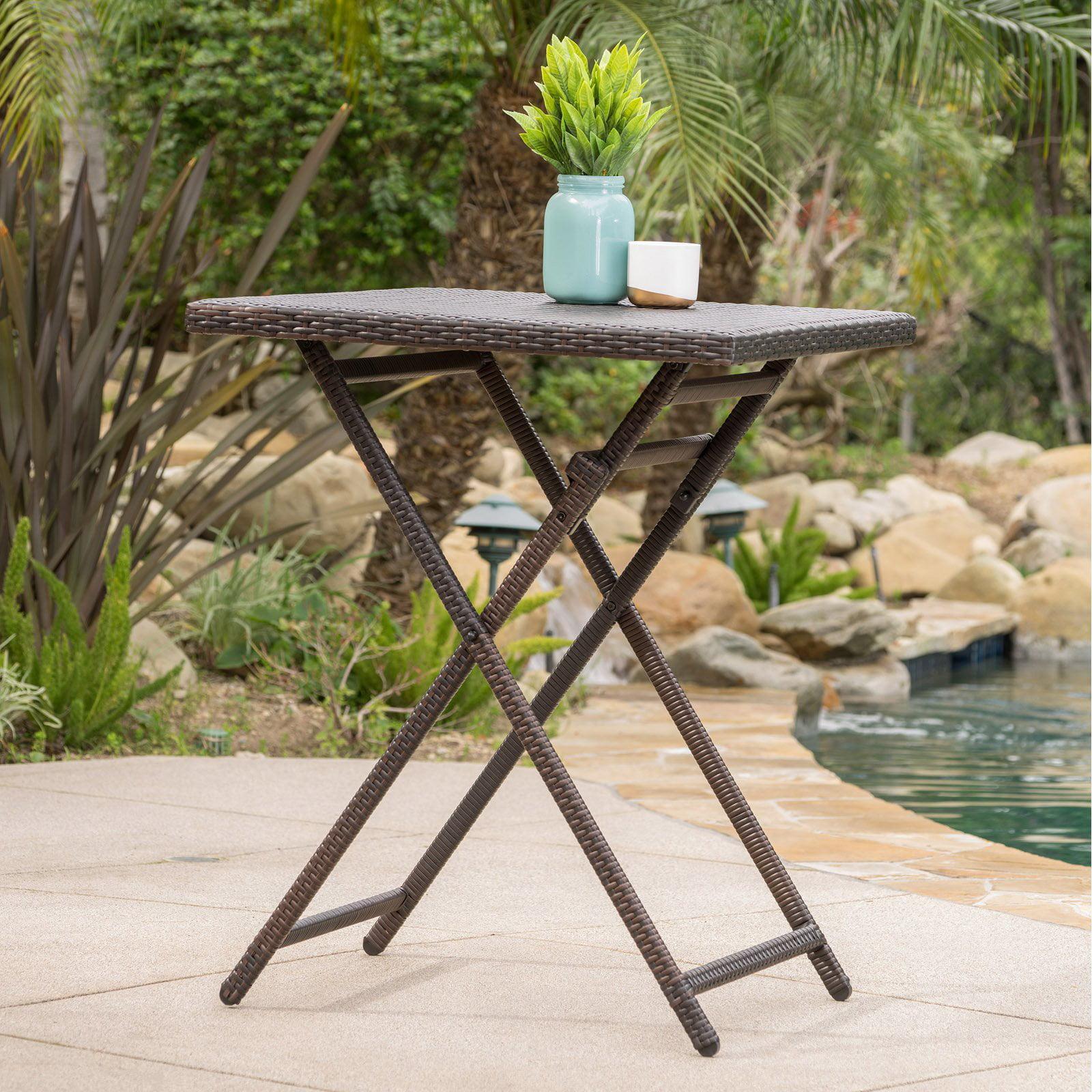 Margarita Outdoor Wicker Bar Table