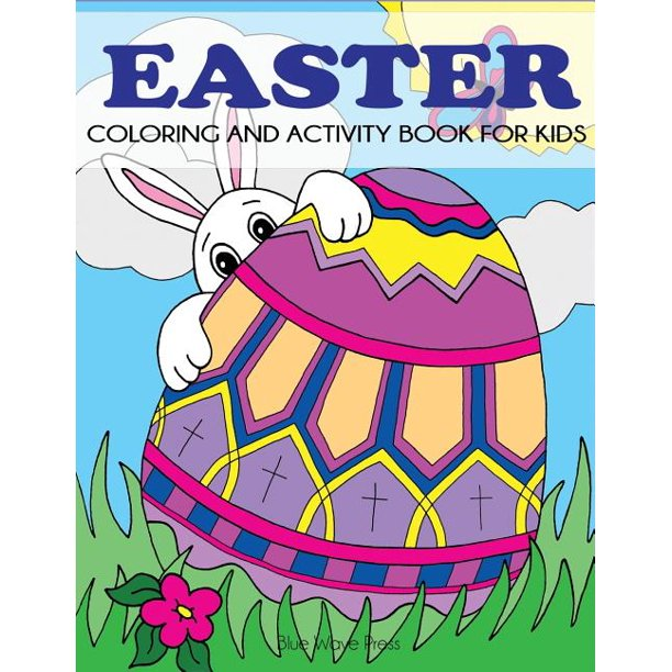 Easter Coloring and Activity Book for Kids (Paperback)