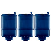 PUR 3-Stage Mineral Clear Faucet Replacement Filter, 3 Pack, Blue, RF99993