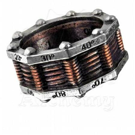 Image of Alchemy Empire R149Y Hi-Voltage Toric Generator Ring, Y - 12