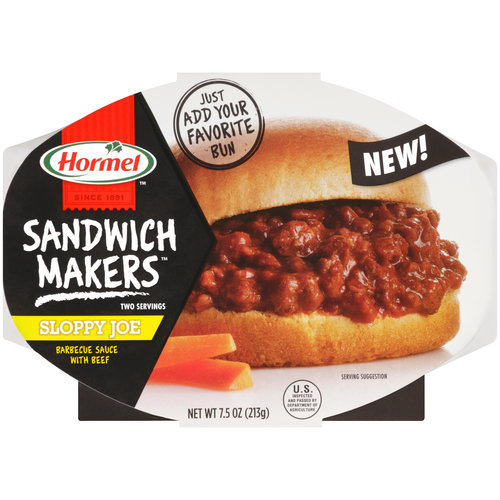 Hormel Sandwich Makers Sloppy Joe Barbecue Sauce with Beef, 7.5 oz