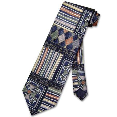 Enrico Rossini SILK NeckTie Made in ITALY Pattern Design Men's Neck Tie