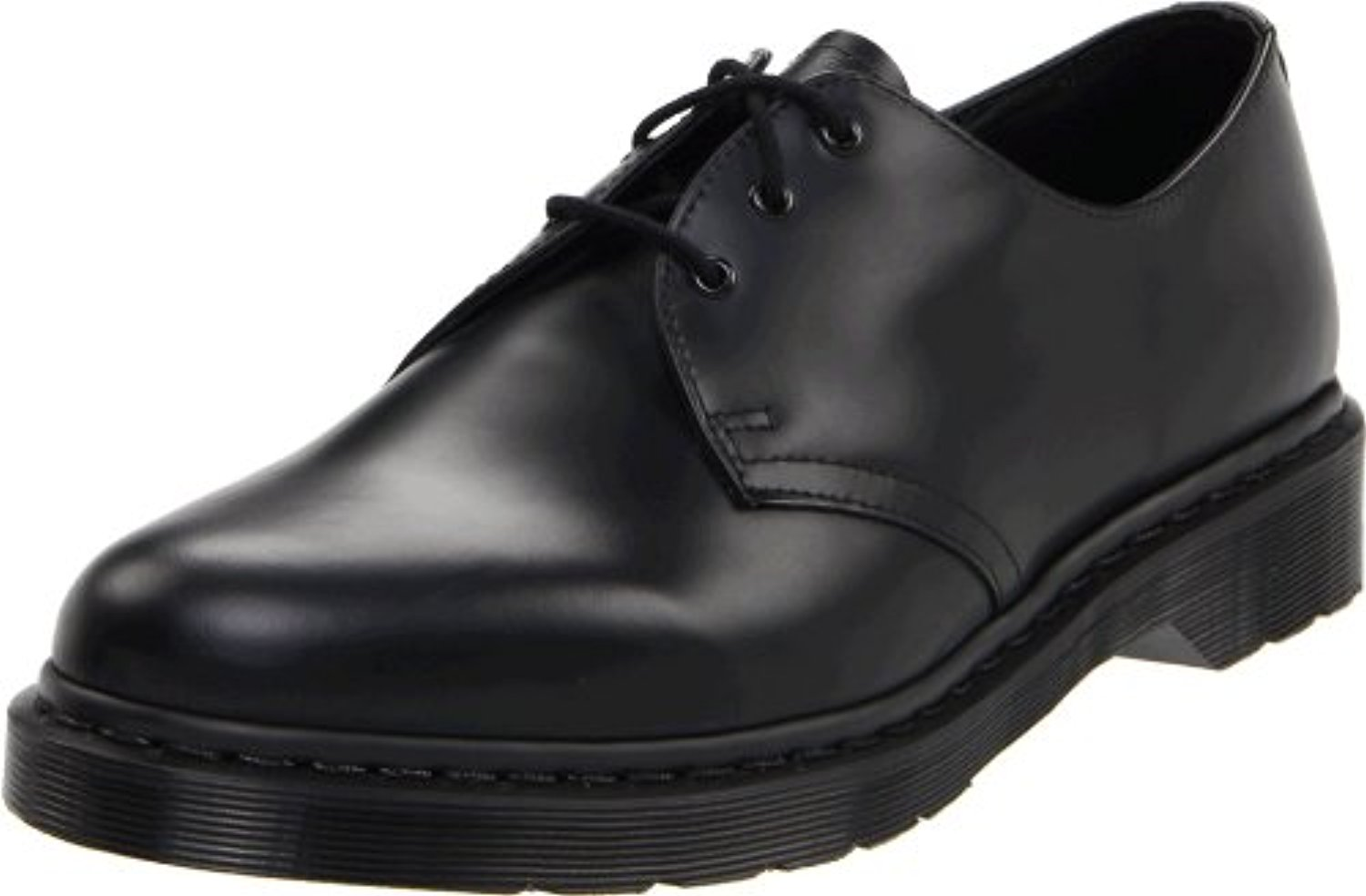 Dr. Martens 1461 Shoe,Black Smooth,11 UK 12 M US by Dr. Martens