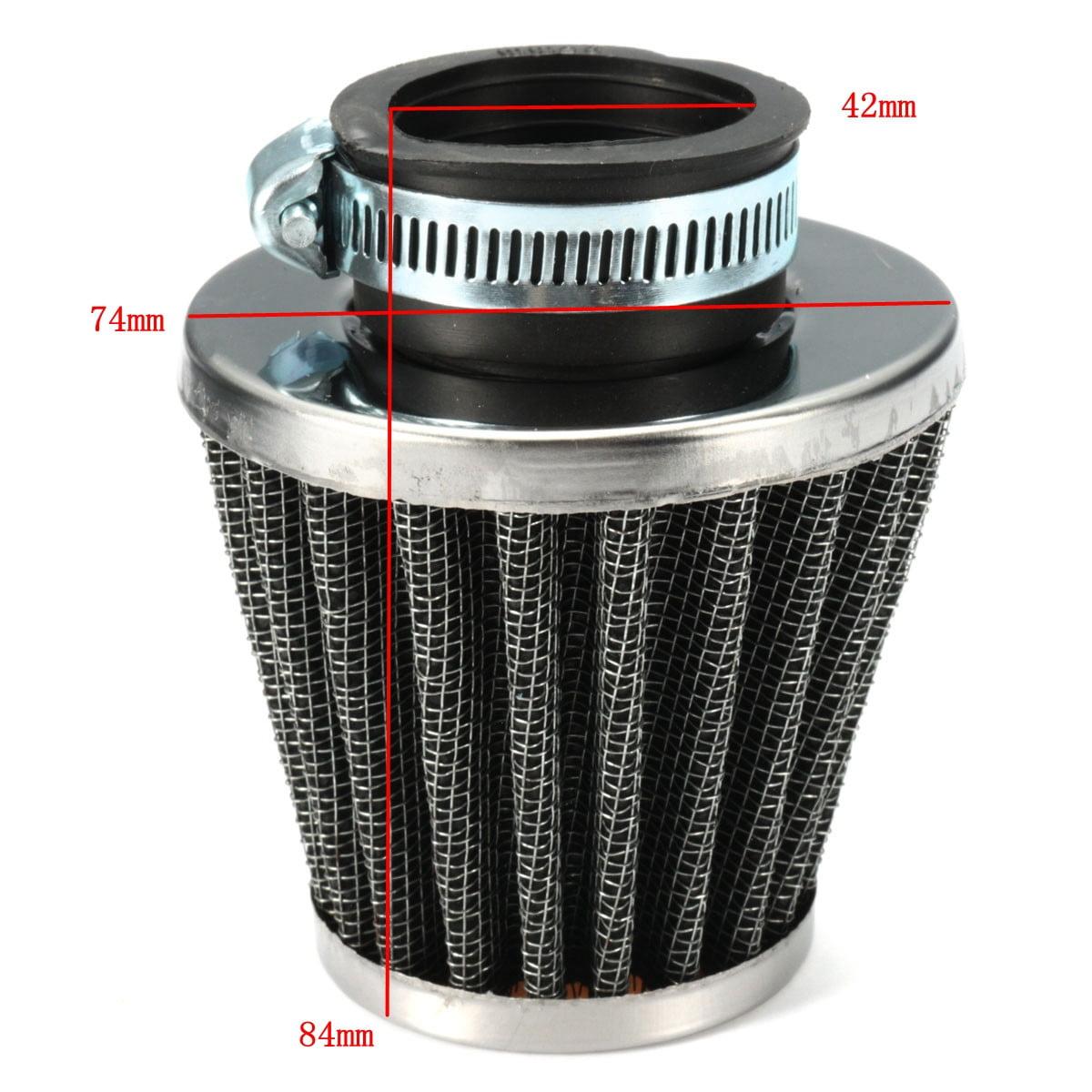 NNOGLOW Motorcycle Air Filter 39mm Universal Motorcycle Air Pod Filter for Honda Kawasaki Suzuki Yamaha