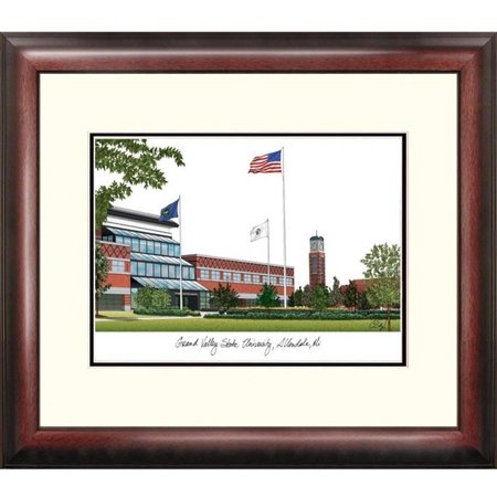- Grand Valley State University Alumnus Framed Lithograph