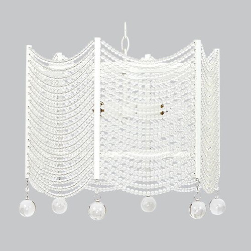 Jubilee Collection Swag 3 Light Crystal Chandelier