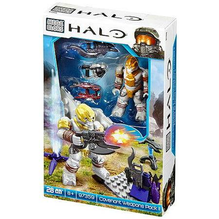 Mega Bloks Halo Covenant Weapons Pack II Set (Halo Mega Bloks Covenant Weapons Pack 2)