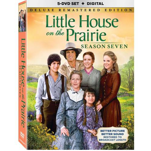 Little House On The Prairie Deluxe Season 7 (DVD   Digital Copy)
