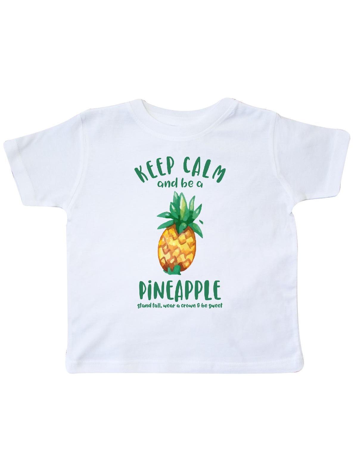Keep Calm Pineapple Toddler T-Shirt