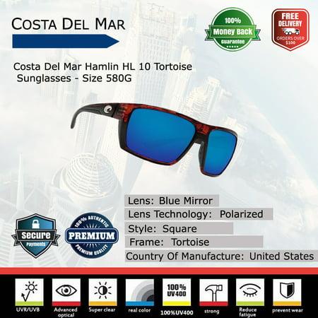 8a7e5bb8f5677 Costa Del Mar - Costa Del Mar Hamlin Tortoise Sunglasses - Walmart.com