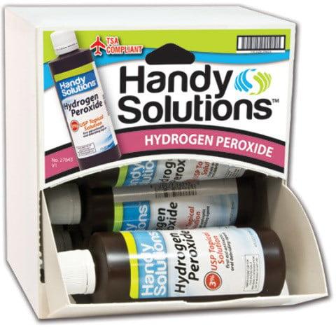Handy Solutions Hydrogen Peroxide 4 Oz Dispensit Case(pack Of 108)