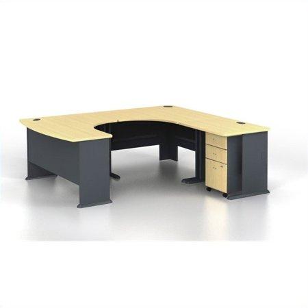 Series U-shape Computer - Bush Business Series A 4-Piece U-Shape Right-Hand Computer Desk