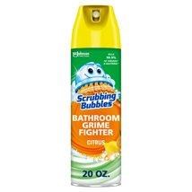 Bathroom Cleaner: Scrubbing Bubbles Bathroom Grime Fighter Aerosol
