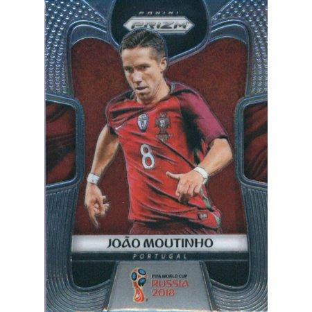 2018 Panini Prizm #158 Joao Moutinho Portugal Soccer Card