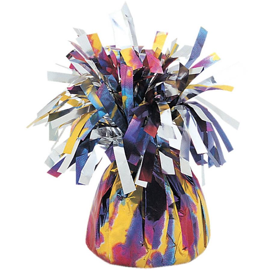 Foil Tie Dye Balloon Weight