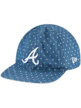 cac2fdca246 Product Image Atlanta Braves New Era Toddler Flip 9TWENTY Adjustable Hat -  Denim - OSFA