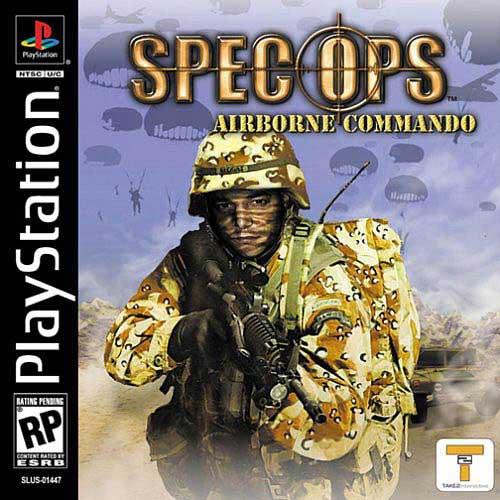 Spec Ops: Airborne Commando PS