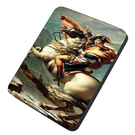 POPCreation Napoleon Crossing the Alps Mouse pads Gaming Mouse Pad 9.84x7.87 inches