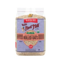 Oatmeal: Bob's Red Mill Quick Cooking Rolled Oats Organic Gluten Free