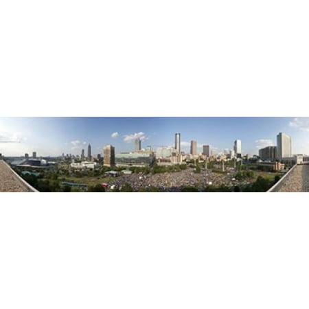 Fourth of July Festival Centennial Olympic Park Atlanta Georgia USA Canvas Art - Panoramic Images (20 x 5)