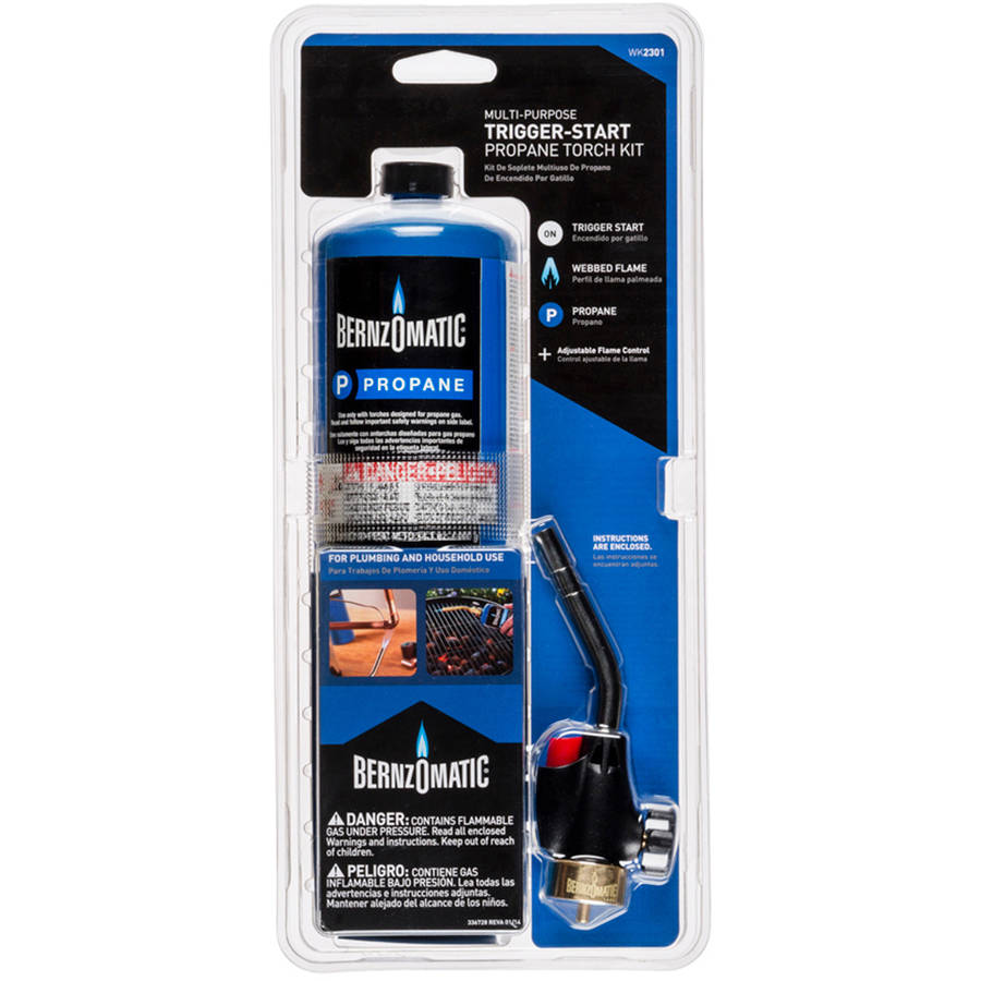 Bernzomatic Trigger-Start Torch Kit