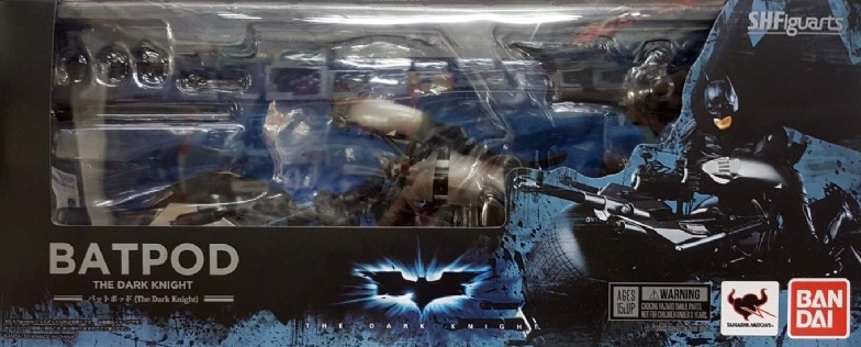Bandai Tamashii S.H. Figuarts Batman The Dark Knight Bat-Pod Action Figure by Bandai