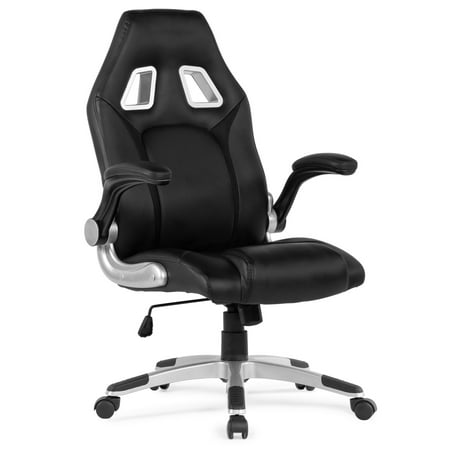 Belleze Racing High Back Office Chair Faux Leather